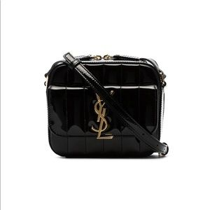 New Authentic Saint Laurent Mini Vicky Camera Bag